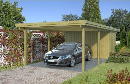 Vi skal have opsat en Carport i vores sommerhus, som vi har købt i Xl-byg.